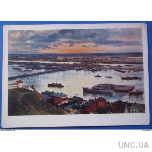 9497 Александр Бенуа. Заполнение реки Ока