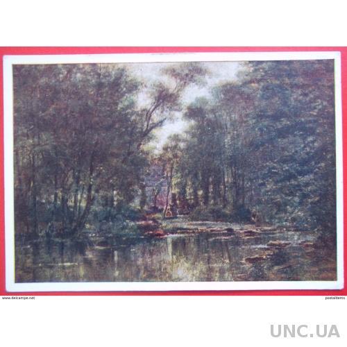 9732 А.Боголюбов. Лес в Веле (Нормандия)