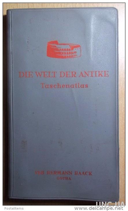 Die welt der Antike. Taschenatlas. 1958. 10000