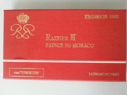 Монако, набор периода правления Ранье 3