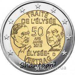 Shantaaal, Германия 2 Евро 50 лет договору 2013
