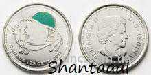 Shantaaal, Канада 25 центов Бык ЦВ.ЭМАЛЬ, 2011