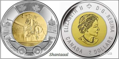 Shantaaal, Канада 2 доллара 2016, Битва за Атлантику