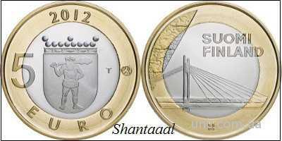 Shantаal, Финляндия 5 Евро Сооружения 2012