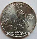 Shantal, 25 центов 2008, Штат США Аляска