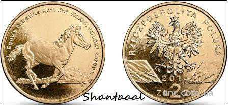 Shantaal, Польша 2 злотых 2014 Польский Пони