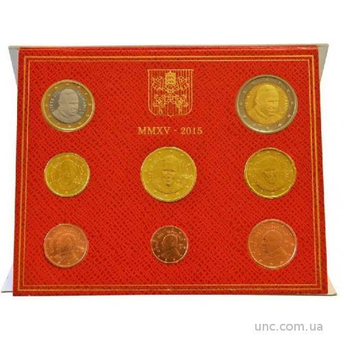 Shantaal, Ватикан Набор евро монет 2015