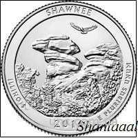Shantal, 25 центов 2016, 31 Парк США, Шони