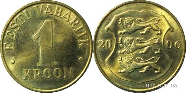 Shantaaal, Эстония 1 крона 2006 год