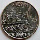 Shantal, 25 центов 2008, Штат США Аризона