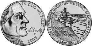 Shantal, 5 центов 2005 Вид на океан