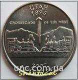 Shantal, 25 центов 2007, Штат США Юта