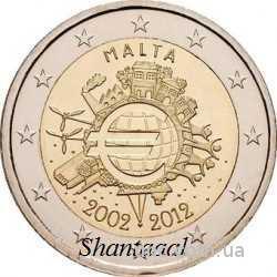 Shantаal, Мальта 2 Евро 10 лет евро 2012 г