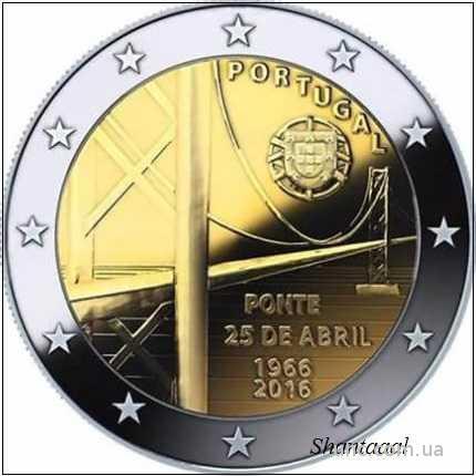 Shantаal,Португалия 2 Евро Мост 25 апреля 2016