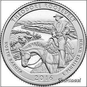 Shantal, 25 центов 2016, 34 Парк США, Теодора Рузвельта