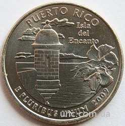 Shantal, 25 центов 2009, Территория США Пуэрто-Рико