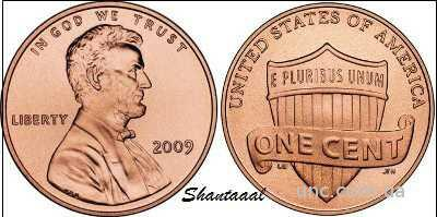 Shantal, 1 цент 2014 Щит