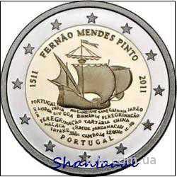 Shantaaal, Португалия 2 Евро Ф. М. Пинто 2011