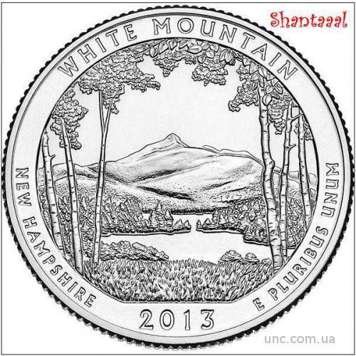 Shantaaal, 25 центов 2013, 16-й Парк США, Белые горы