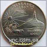Shantal, 25 центов 2006, Штат США Небраска