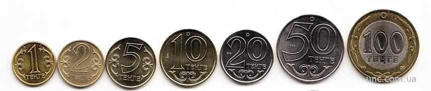 Shantaaal, Казахстан, Набор 7 монет 2000-2007, UNC