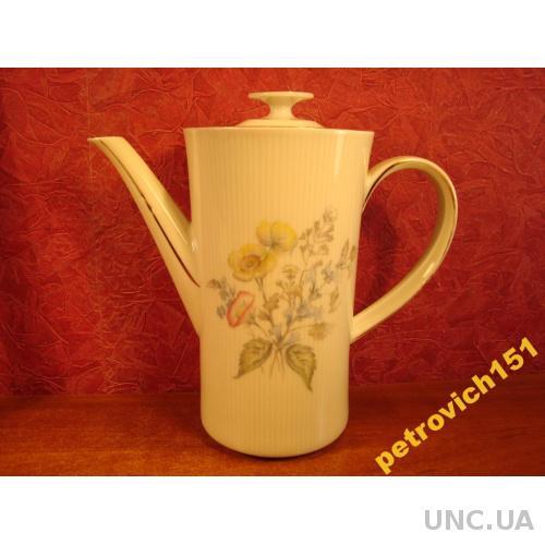 Красивый Антикварный Чайник для Трав Фарфор Бавария Германия №622