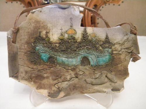 Оригинальное Настенное Панно Старый Замок Керамика