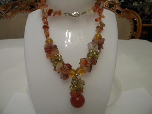 Украшение Ожерелье Колье Натуральные Камни №222