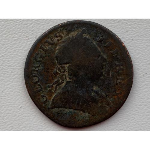 Англия 1\2 пенни 1771 год №102