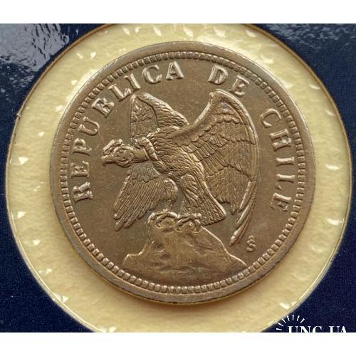 Чили 1 песо 1933 год ОТЛИЧНАЯ!!!!!!!!