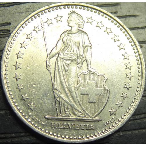 1/2 франка 1997 Швейцарія