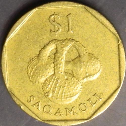 1 долар 1998 Фіджі