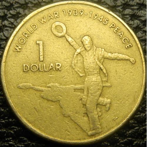 1 долар 2005 Австралія - 60-річчя закінчення ІІ-ї світової війни
