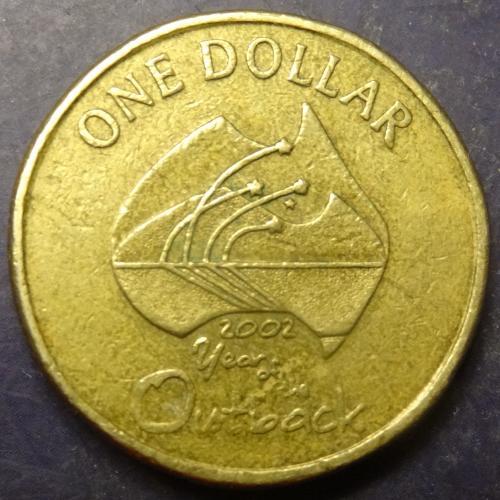 1 долар Австралія 2002 Рік віддалених районів Австралії