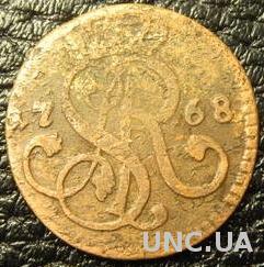 1 грош 1768 G Польща