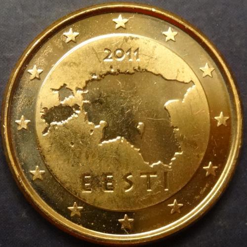 1 євроцент 2011 Естонія UNC