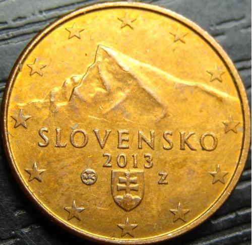 1 євроцент 2013 Словаччина