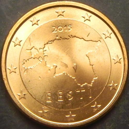 1 євроцент 2015 Естонія UNC