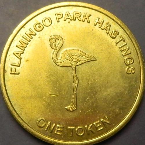 1 Токен Flamingo Park, Гастінгс, Британія