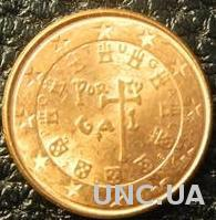 1 євроцент 2008 Португалія