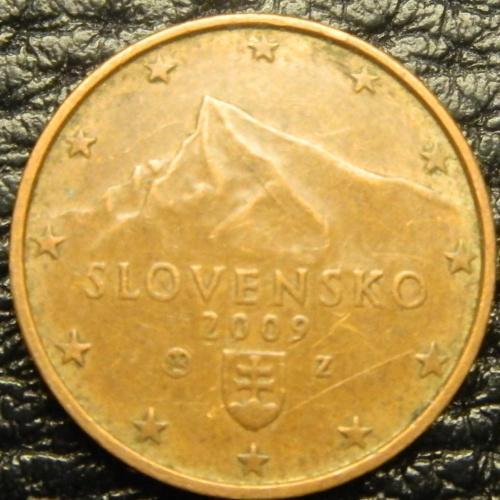 1 євроцент 2009 Словаччина