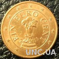 1 євроцент 2014 Австрія