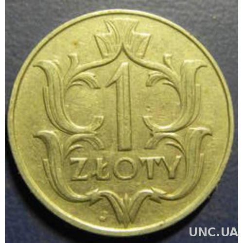 1 злотий 1929 Польща