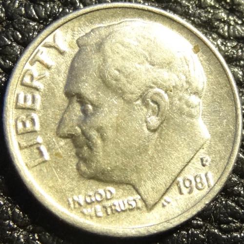 10 центів 1981 P США