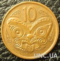 10 центів 2006 Нова Зеландія