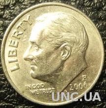 10 центів 2006 P США