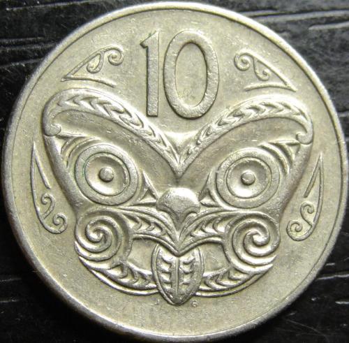10 центів 1978 Нова Зеландія