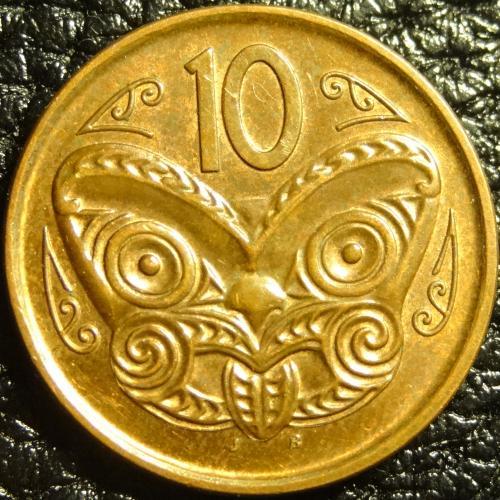 10 центів 2011 Нова Зеландія