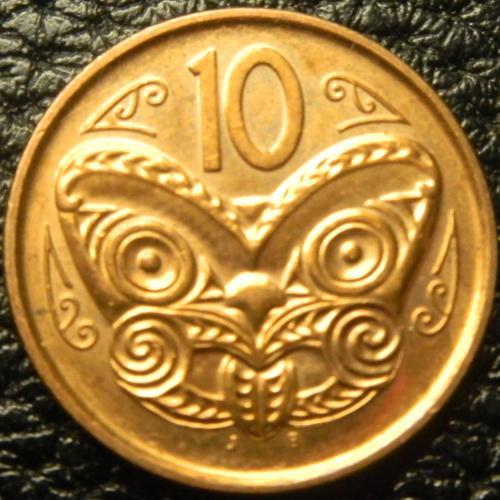 10 центів 2012 Нова Зеландія