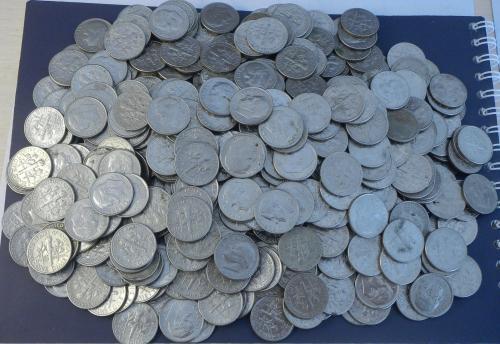 10 центів США 500шт суперлот